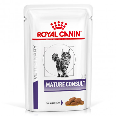 Royal Canin Senior Consult Stage1 Húmida Gato