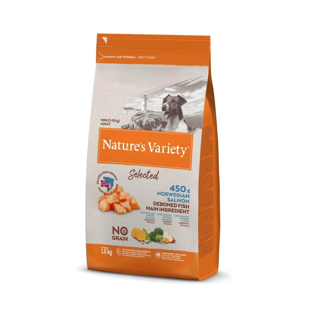 Nature's Variety Selected Sem Cereais Cão Adulto Mini - Frango