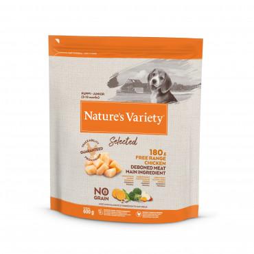 Nature's Variety Selected Sem Cereais Cão Junior - Frango