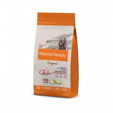 Nature's Variety Original No grain Cão Medium adulto - Peru