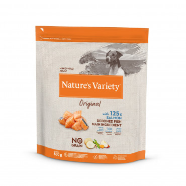 Nature's Variety Original No grain Cão Mini adulto - Atum