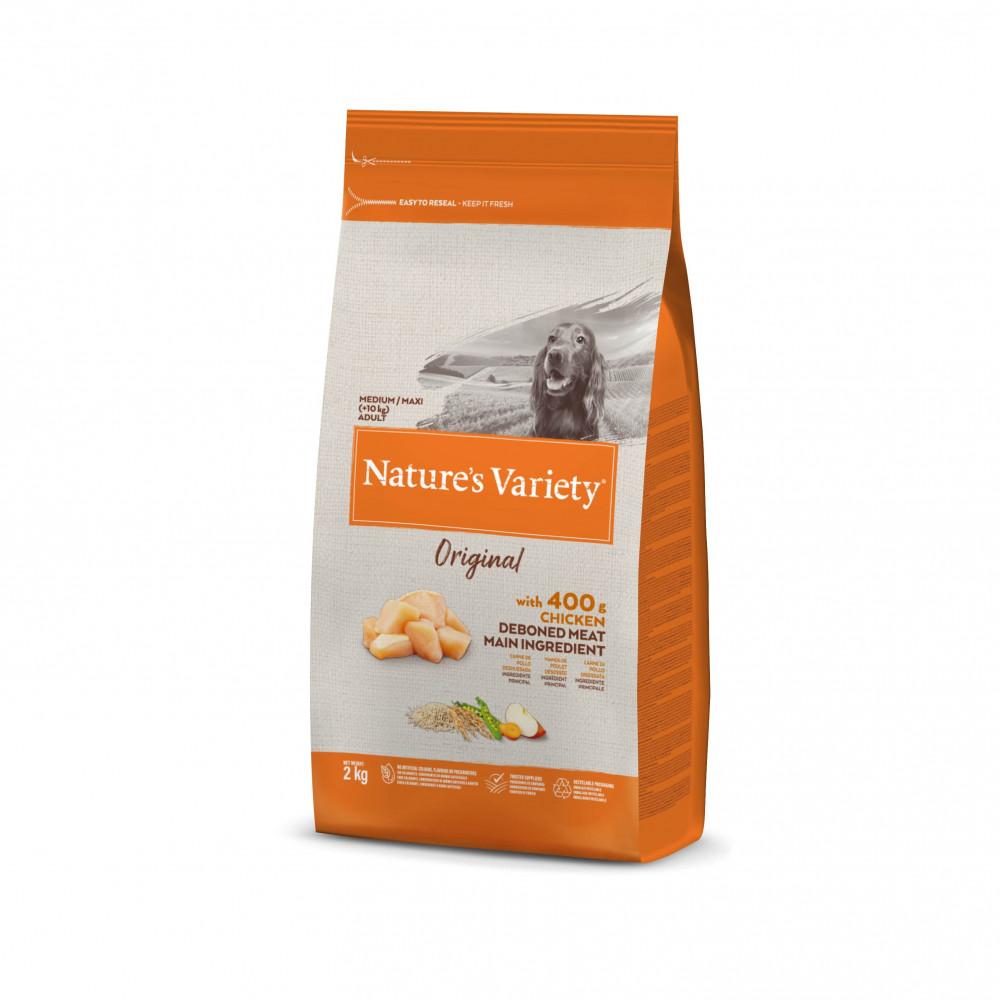 Nature's Variety Original Cão Adulto Médio - Frango