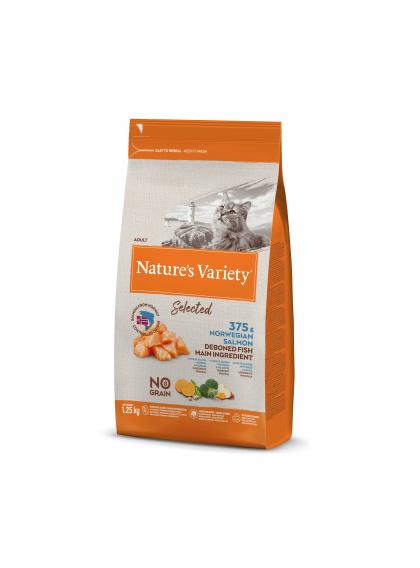 Nature's Variety Selected Sem Cereais Gato Adulto - Salmão da noruega