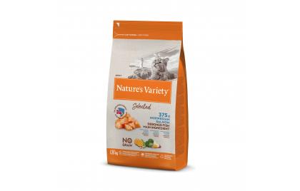 Nature's Variety Selected No grain Gato adulto - Salmão da noruega