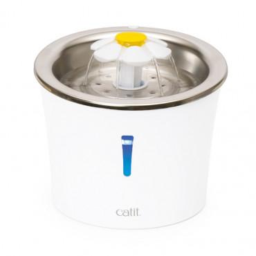 Fonte de água Flower LED em inox - Catit