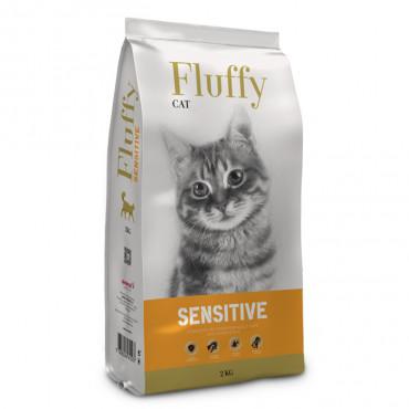 Fluffy Sensitive Gato adulto