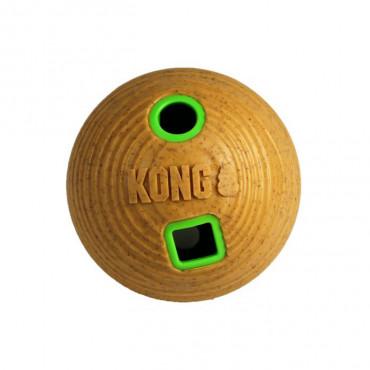 Bola de bamboo dispensadora de snacks - KONG