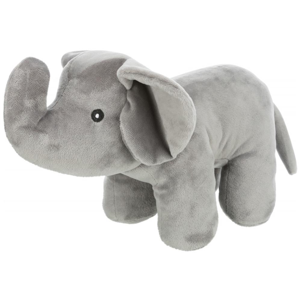 Elefante de peluche sem som