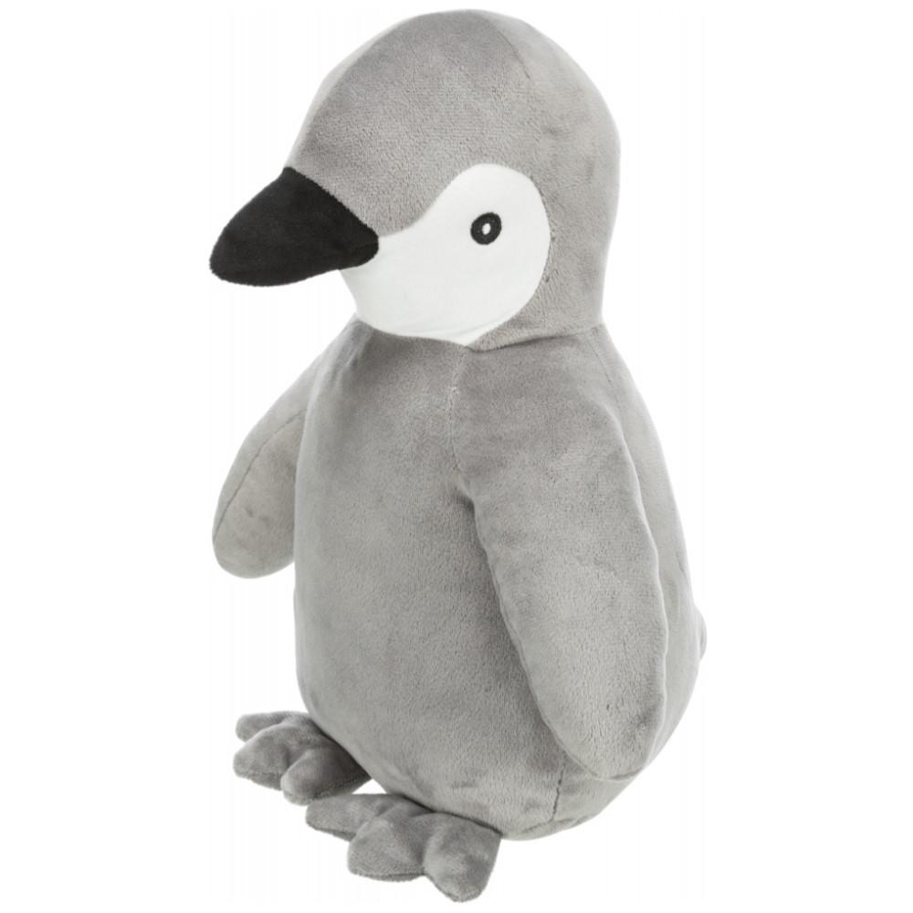 Pinguim de peluche com som