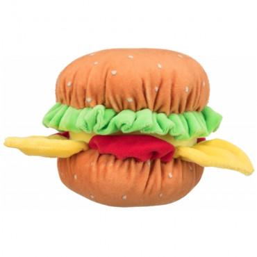 Hambúrguer de peluche com som
