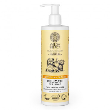 Sabão líquido orgânico para pele sensível - Wilda Siberica