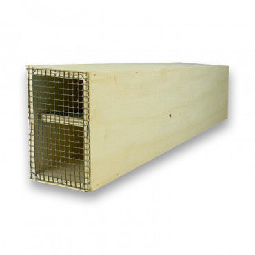 Ratoeira de madeira para ratazanas