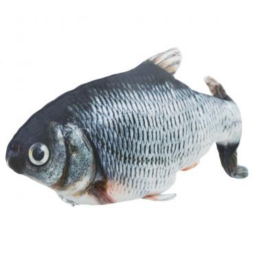 Peixe de tecido com catnip