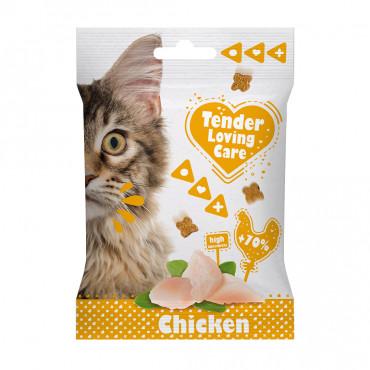 Duvo+ Soft Snacks de frango para gato