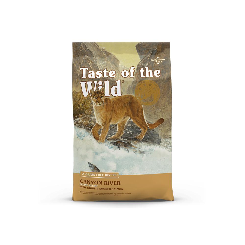 Taste of the Wild - Canion River Truta e Salmão