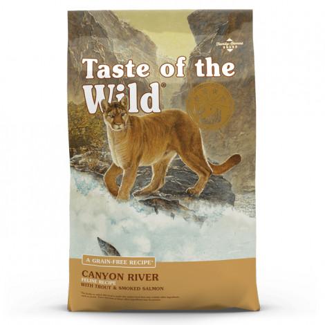 Taste of the Wild Canyon River Gato - Truta e salmão