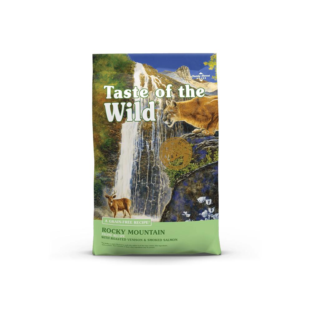 Taste of the Wild - Rocky Mountain Veado e Salmão