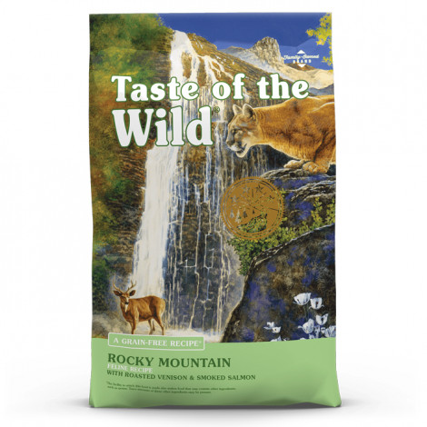 Taste of the Wild Rocky Mountain Gato - Veado e salmão