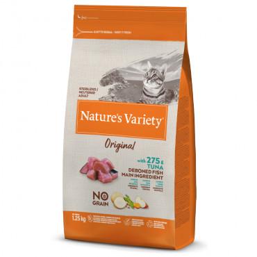 Nature's Variety Original Sem Cereais Gato Adulto Esterilizado - Atum