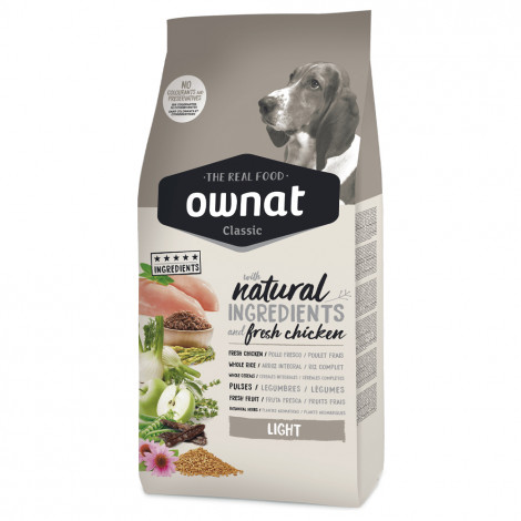 OWNAT Classic Light Cão adulto - Frango