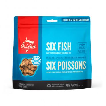 Orijen Six Fish Snacks para gato