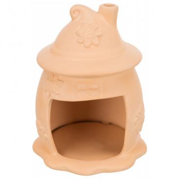 Cama em cerâmica para pequenos roedores
