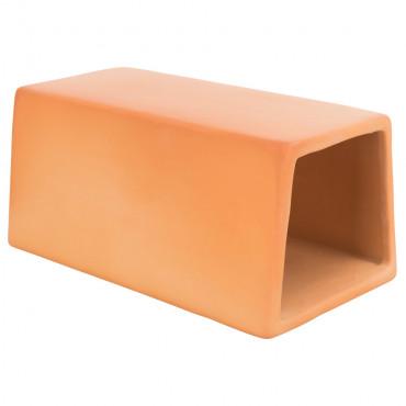 Túnel em cerâmica para roedores