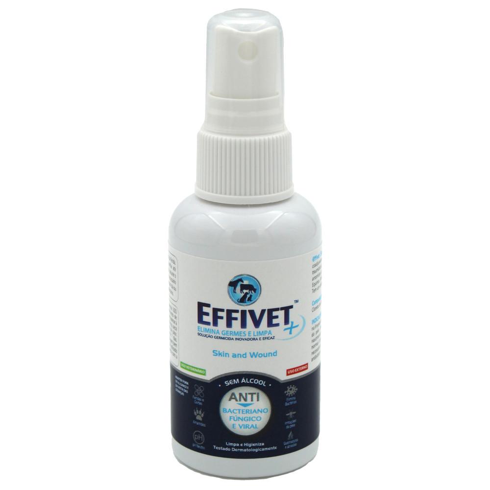 Loção para tratamento de feridas Effivet Skin and Wound