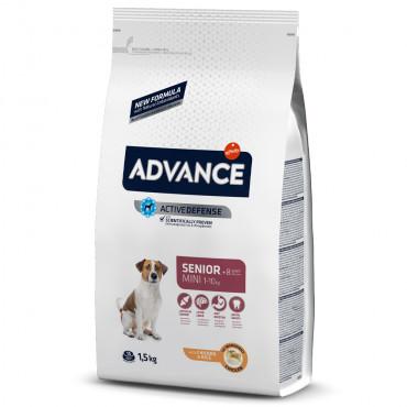 Advance Cão sénior mini +8 - Frango e arroz