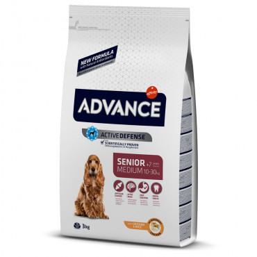 Advance Cão sénior medium +7 - Frango e arroz