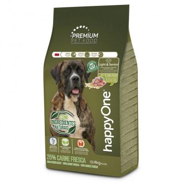 happyOne Premium Cão Light & Sénior - Carne fresca de aves