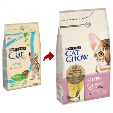 Cat Chow Gato Kitten