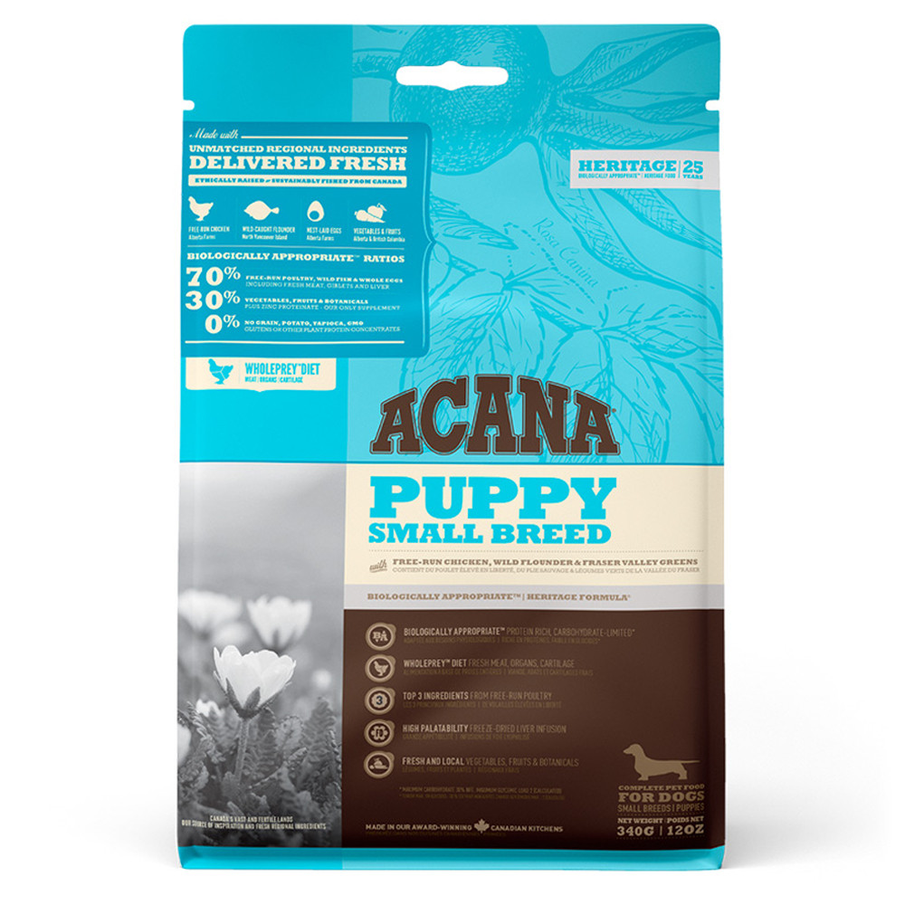 ACANA HERITAGE DOG - Puppy Small Breed 6kg