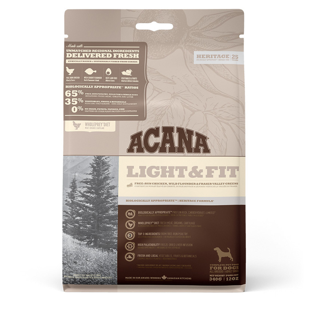 ACANA HERITAGE - Light and Fit 11.4kg