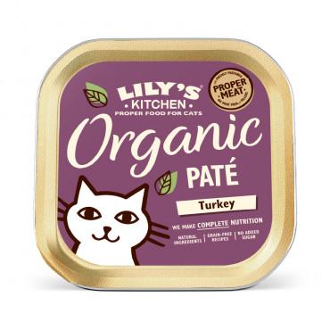 Lily's Kitchen Organic Gato adulto - Patê de peru