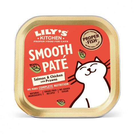 Lily's Kitchen Gato adulto - Patê de salmão