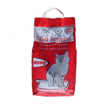 Areia Saint Bernard p/ gatos