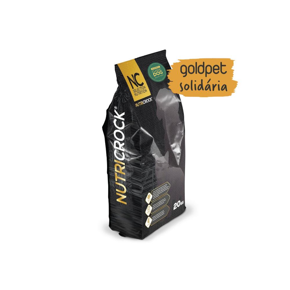 Goldpet Solidária - Nutricrock Classic Cão Adulto