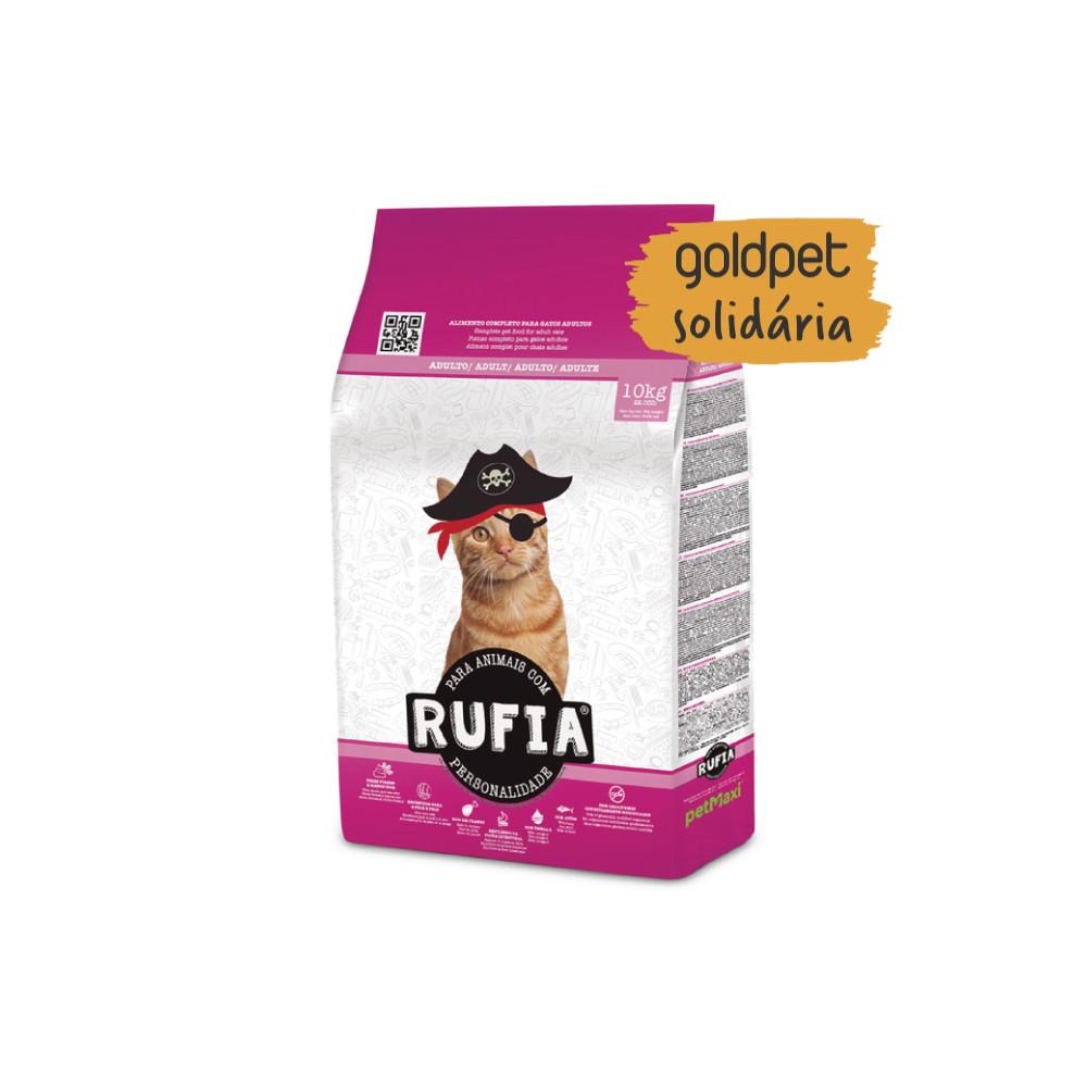 Goldpet Solidária - Rufia Gato adulto - Frango