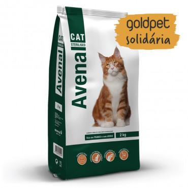 Goldpet Solidária - Avenal Gato adulto esterilizado