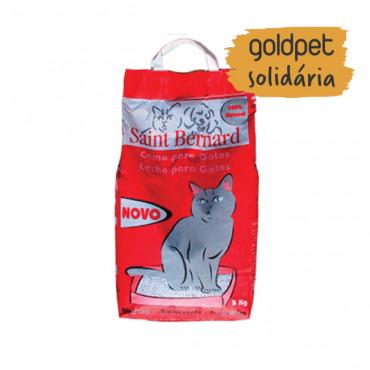 Goldpet Solidária - Saint Bernard Areia vermelha para gatos