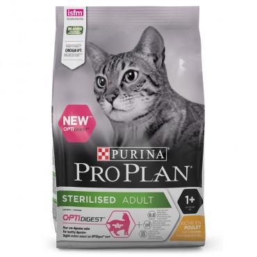 Pro Plan Sterilised Optidigest Gato adulto - Frango