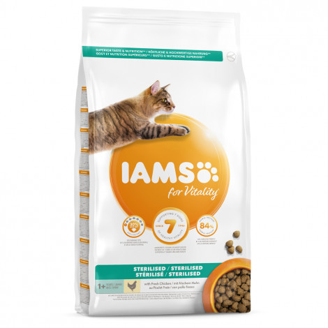 IAMS for Vitality Gato adulto esterilizado - Frango