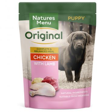 Natures Menu Cão Puppy Frango e Cordeiro Húmida