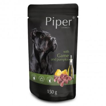 Piper Cão adulto - Caça e abóbora em patê