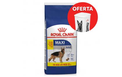 Royal Canin Maxi Cão Adulto 15+3 kg GRÁTIS