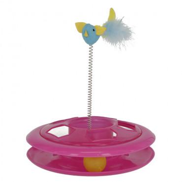 Brinquedo com bola e pássaro para gatos - Kerbl