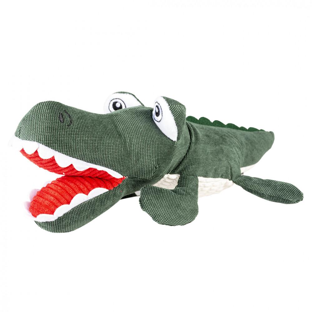 Crocodilo de peluche para cães - Duvo+