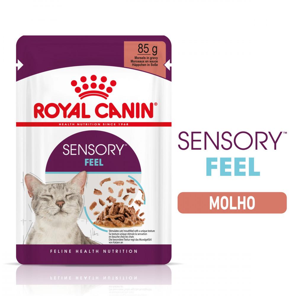 Royal Canin Sensory Feel Gato adulto - Em molho
