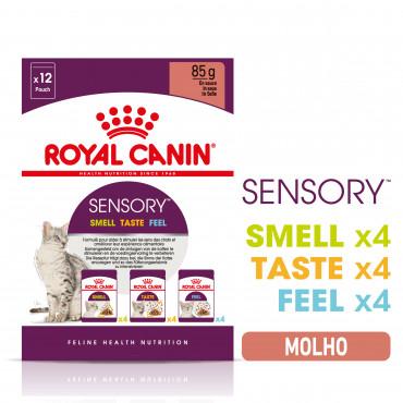 Royal Canin Sensory Multipack Gato adulto - Em molho